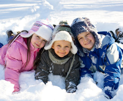 Colonie de vacances hiver ski