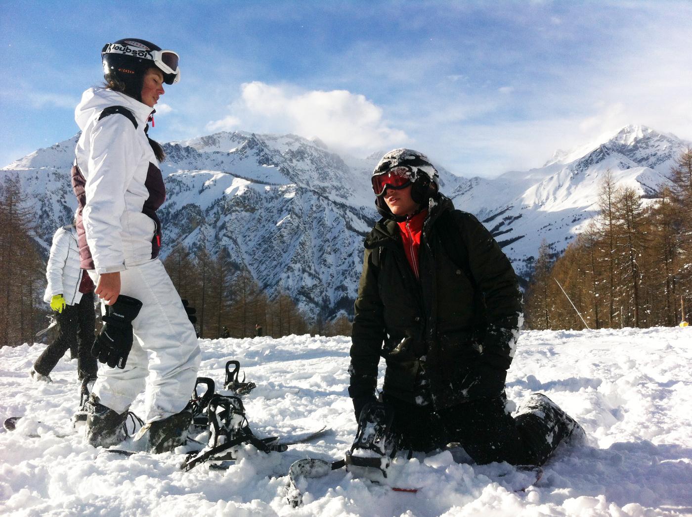 Colonie de vacances sports d'hiver