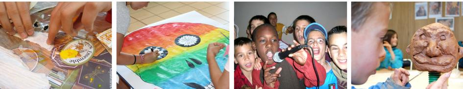 Colonies de vacances artistiques pour enfants et ados pour les vacances d'hiver 2018